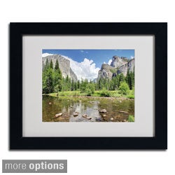 Pierre Leclerc 'Yosemite' Framed Matted Art