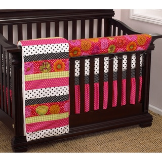 Cotton Tale Tula Crib Rail 4-piece Crib Bedding Set