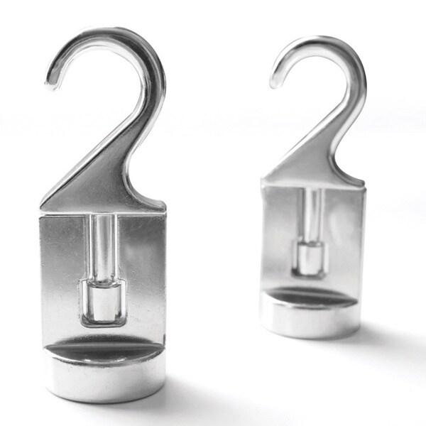 Cooks Standard Solid Cast Aluminum Pot Rack Swivel Hooks (Set of 2)