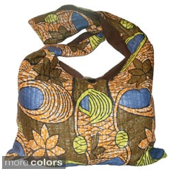 Cotton Sling Handbag (Zambia)