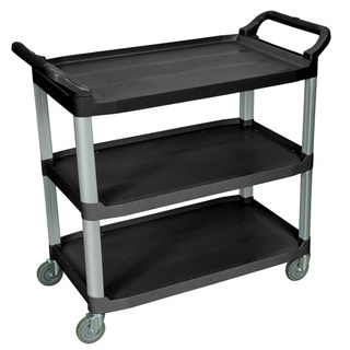Black 3-shelf Serving Cart SC13-B