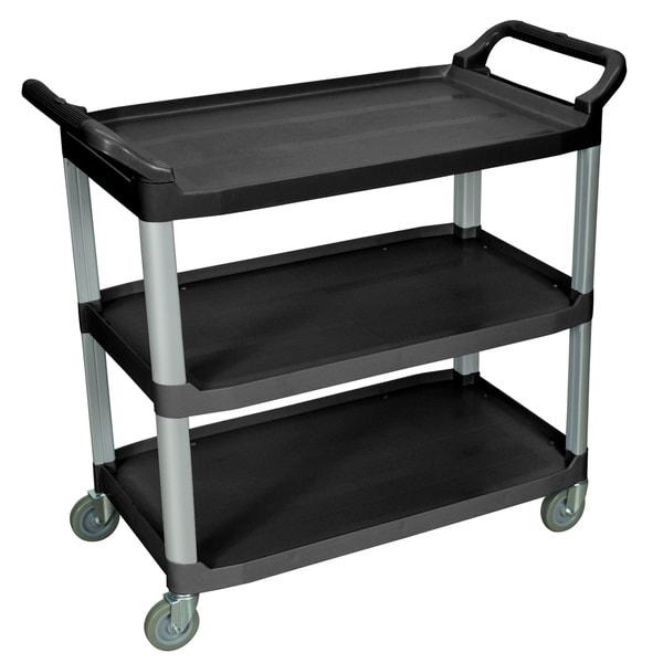 Black 3-shelf Serving Cart SC13-B