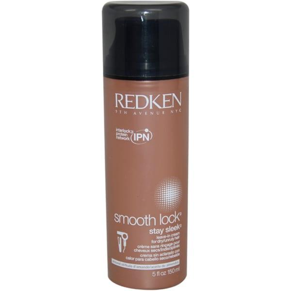 Redken Smooth Lock Stay Sleek 5-ounce Leave-in Cream