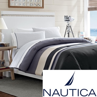 Nautica Easton Bay Cotton Bed in a Bag with Sheet Set | Overstock