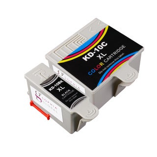 Sophia Global Compatible Kodak 10XL Black and Color Ink Cartridges (Pack of 2)