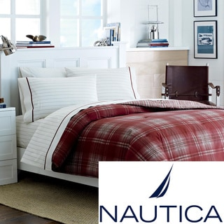 Nautica Ridgehill Cotton Bed in a Bag with Sheet Set | Overstock