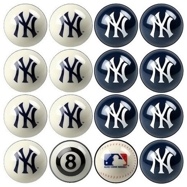 MLB New York Yankees Billiards Pool Ball Set 11560414