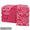 Cozee Nights Microfleece 6-Piece Sheet Set