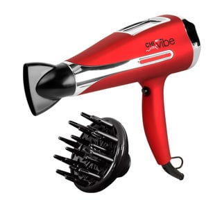 CHI Air Vibe Ceramic Ionizing Red Metallic Hair Dryer