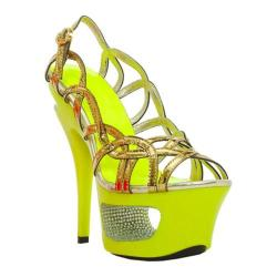 Women's Ellie Isla Yellow Metallic Patent