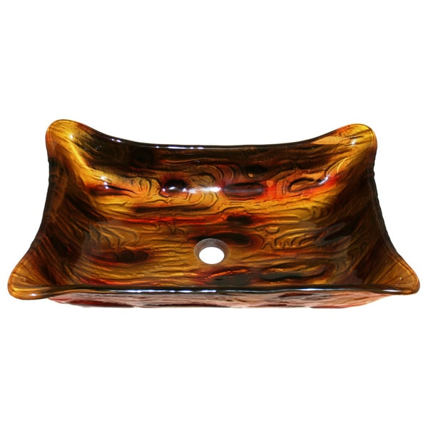 The Tiger Shark Tempered Glass Vessel Sink
