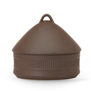 Flamestone Brown 2 Quart Beehive Casserole