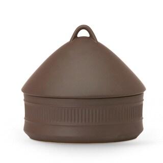 Dansk Flamestone Brown 2 Quart Beehive Casserole