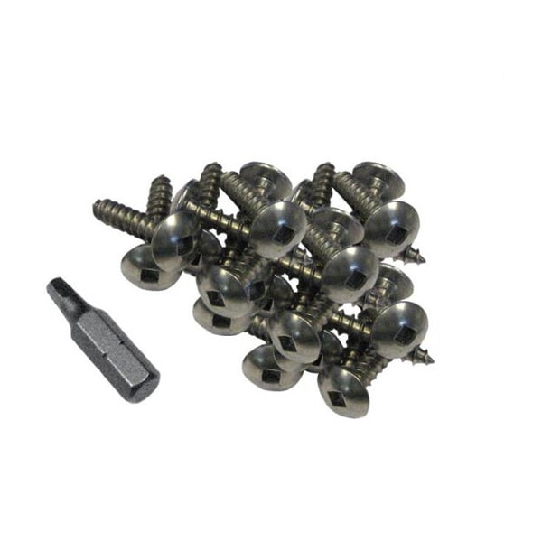 Dock Edge 100-piece Mounting Screws and Driver Bit Set