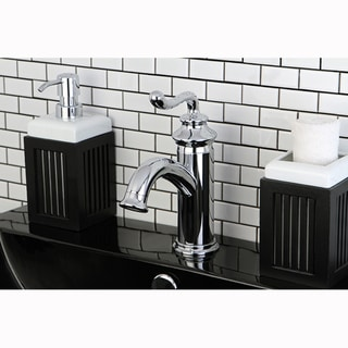 Single-handle Chrome Single-hole Bathroom Faucet