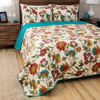 Greenland Home Fashions Clearwater 3-piece Quilt Set
