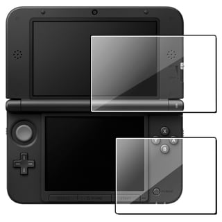 BasAcc 2-piece Screen Protector Set for Nintendo 3DS XL (Pack of 2)