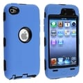 BasAcc Black/ Blue Hybrid Case for Apple iPod Touch 4