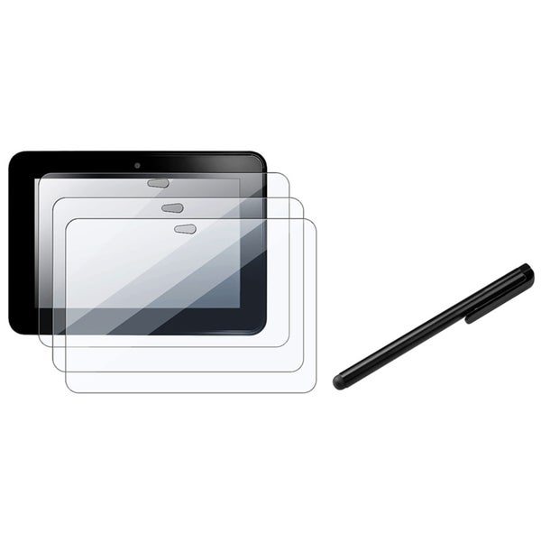 INSTEN LCD Protector Set/ Stylus for Amazon Kindle Fire HD