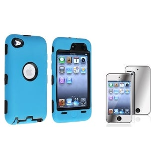 BasAcc Hybrid Case/ Screen Protector for Apple iPod Touch 4