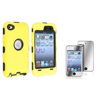INSTEN Hybrid iPod Case Cover/ LCD Protector for Apple iPod Touch 4