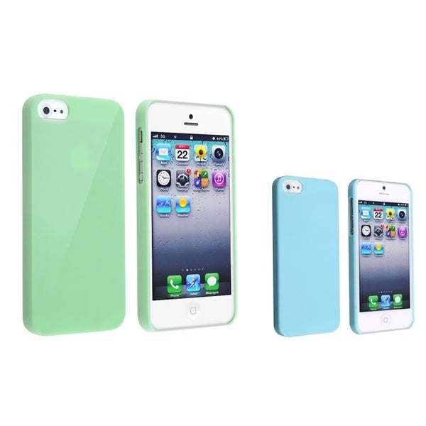 INSTEN 2-piece set piece set Phone Case Cover for Apple iPhone 5/ 5S