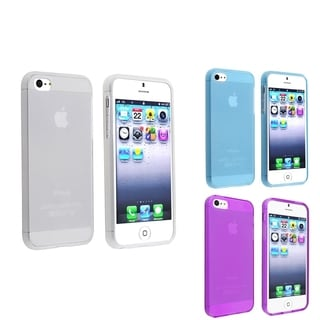 BasAcc 3-case Set for Apple iPhone 5