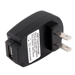 INSTEN Black Universal USB Travel Charger for Apple iPhone 4/ 4S/5/ 5S/ 6