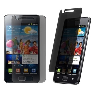 BasAcc Privacy Screen Protector for Samsung Galaxy S II i9100