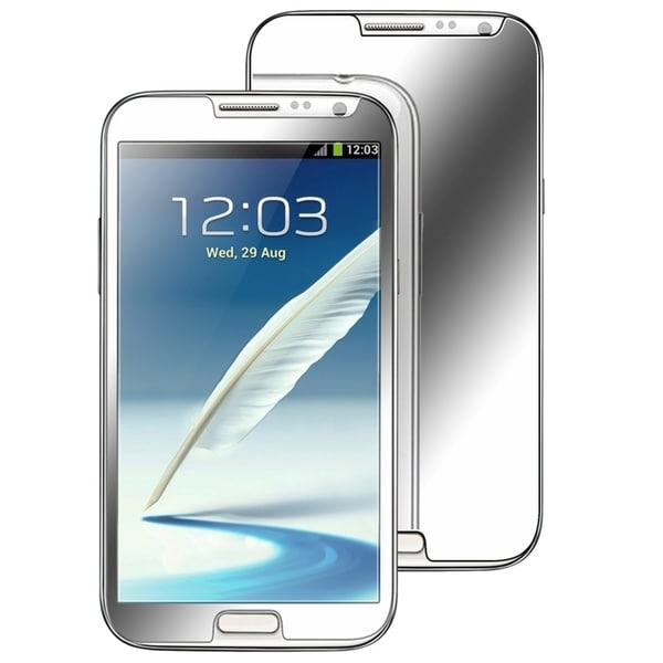 INSTEN Mirror Screen Protector Set for Samsung Galaxy Note II N7100 (Pack of 2)