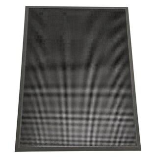 Rubber Cal Door Scraper Commercial Doormats Black Outdoor