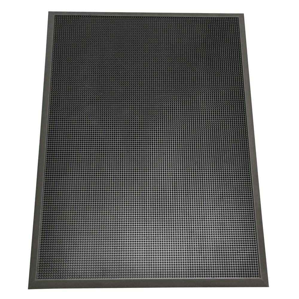 rubber cal door scraper commercial doormats black outdoor. Black Bedroom Furniture Sets. Home Design Ideas