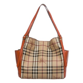 Burberry 3882425 Small Haymarket Panels Canterbury Tote