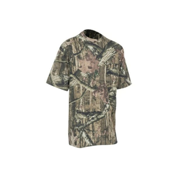 Yukon Gear Short Sleeve T-Shirt Mossy Oak Break Up Infinity