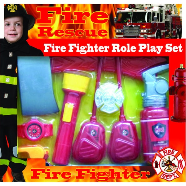 Fire Fighter Role Play Kit