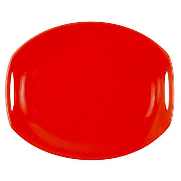 Dansk Classic Fjord Chili Red Serving Platter