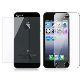 INSTEN Clear Screen Protector Set for Apple iPhone 5 (Pack of 3)