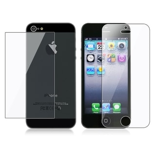 BasAcc Screen Protector Set for Apple iPhone 5 (Pack of 3)