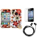 BasAcc Screen Protector/ Headset/ Hybrid Case for Apple� iPhone 4/ 4S