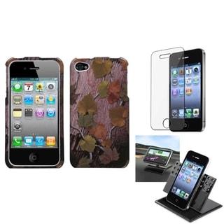 INSTEN Car Dashboard Holder/ Hunter Phone Case Cover for Apple iPhone 4/ 4S