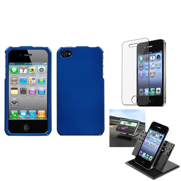 BasAcc Car Dashboard Holder/ Screen Protector for Apple® iPhone 4/ 4S