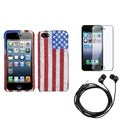 BasAcc Screen Protector/ Headset/ Diamante Case for Apple� iPhone 5