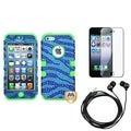 BasAcc Screen Protector/ Headset/ TUFF Hybrid Case for Apple� iPhone 5