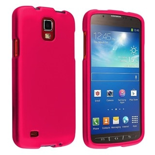 BasAcc Hot Pink Rubber Coated Case for Samsung� Galaxy S4 Active i9295