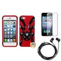 BasAcc Screen Protector/ Headset/ Hybrid Case for Apple� iPhone 5