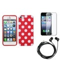 BasAcc Screen Protector/ Headset/ Skin Case for Apple� iPhone 5