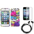BasAcc Screen Protector/ Headset/ Case for Apple iPhone 5
