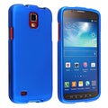 BasAcc Blue Rubber Coated Case for Samsung Galaxy S4 Active i9295