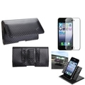 BasAcc Car Dashboard Holder/ Braided Pouch for Apple� iPhone 4/ 4S