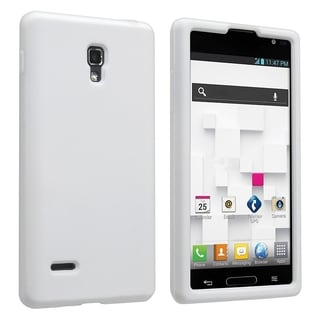 BasAcc White Silicone Skin Case for LG Optimus L9 P769